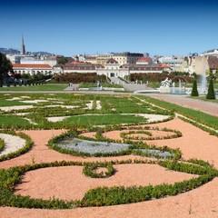 Vienna - Belvedere Gardens