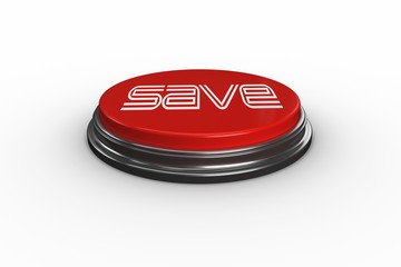 Save against digitally generated red push button