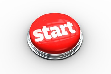 Start on digitally generated red push button
