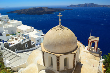 Orthodox church of St. John at Fira, Santorini
