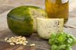 Dutch herbal and pesto cheese