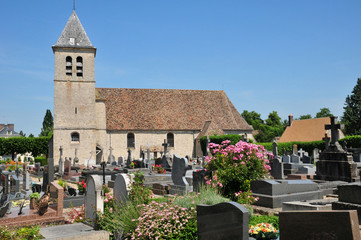 France, the picturesque village of Les Mesnuls