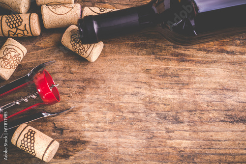 Foto op Plexiglas Wijn wine background