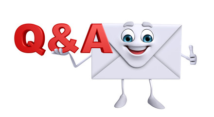 Mail Character with Q&A