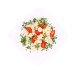 Cauliflower salad.