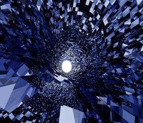 未来のトンネルのイメージ