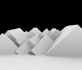 立方体の背景素材