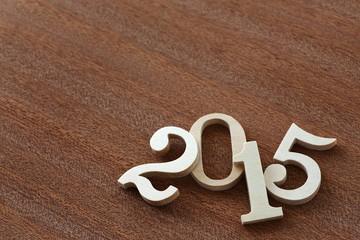 2015年 木の数字小物