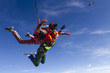 Skydiving photo. Tandem.