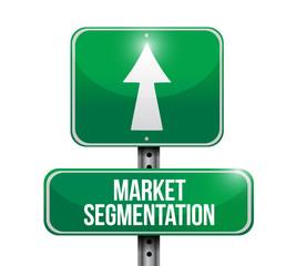 market segmentation sign illustration