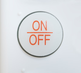 on-off button