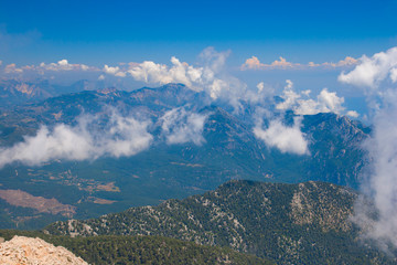 View from mount Tahtali, Kemer
