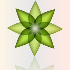 Green pinwheel