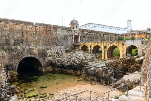 canvas print picture Fort of Peniche (Portugal)