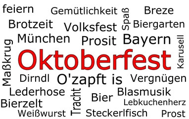 Oktoberfest Wordcloud