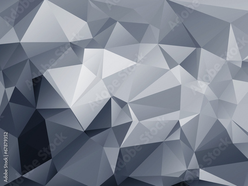 Abstract polygonal background - 67879352