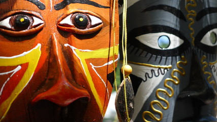 Indian Masks 3