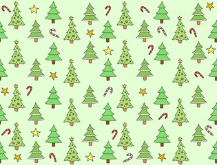 Christmas texture - seamless background