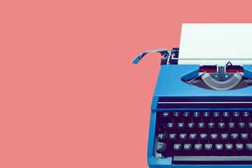 classic retro typewriter