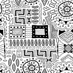 Traditional art background - indigenous patterns