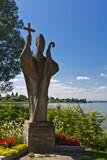 Pirmin-Statue am Bodensee 2