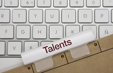 Talents. Keyboard