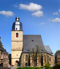 Church St. Petri, Luther City Eisleben, Germany, UNESCO WH Site