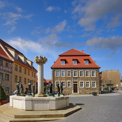 Luther City Eisleben, Germany, UNESCO World Heritage Site