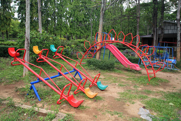 Old children playground