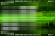 Green virtual technology abstract background.