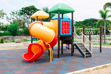 Children's playground at public park