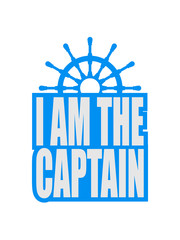 Cool I am the Captain Logo