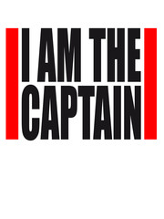 Cool I am the Captain Design
