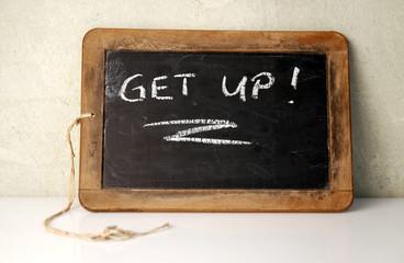 Get Up Information