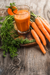 Carrot Juice fresh carrots