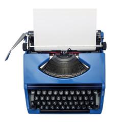 isolated typewriter