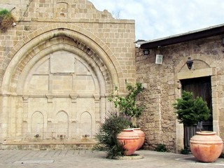 Jaffa Al-siksik Mosque the lower part 2012