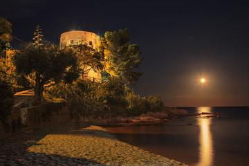 Mond über Navarrese
