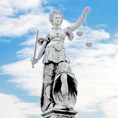 Justitia - die personifizierte Gerechtigkeit