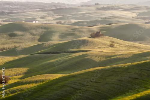 Papiers peints Beige colline toscane