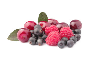 assorted garden berries