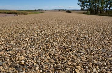 Carretera Rural a Ras del Suelo