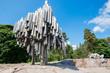 Leinwanddruck Bild - Sibelius Monument in Helsinki, Finland
