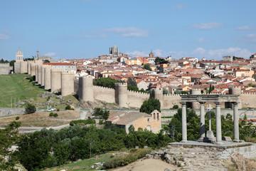 Medieval spanish town Avila, Castile and Leon, Spain