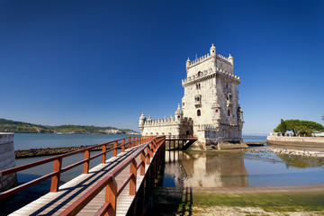 Belem Tower in Lisbon - Portugal