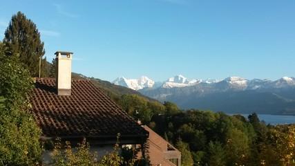 Wohnen in den Alpen