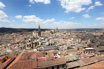 The old town of Toledo, Castilla-La Mancha, Spain