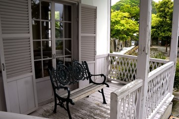 Bench on the Verandah