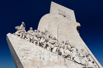 Monument to the Portuguese Discoveries in Lisbon - Portugal