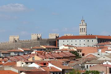Medieval town of Avila, Castilla y Leon, Spain